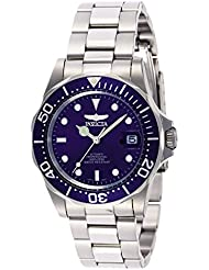 Invicta Mens 9094 Pro Diver Collection Stainless Steel Automatic Dress Watch with Link Bracelet