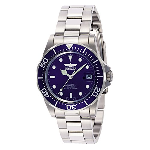 Invicta Men's 9094 Pro Diver Collection Stainless Steel Automatic Dress Watch with Link Bracelet - Automatic Watch Stainless Steel Band