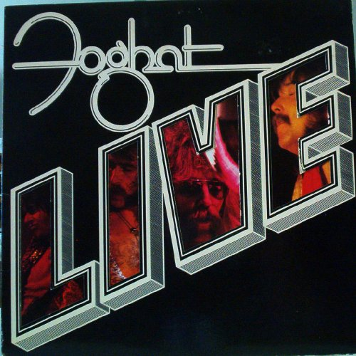 Foghat Live by Bearsville Records