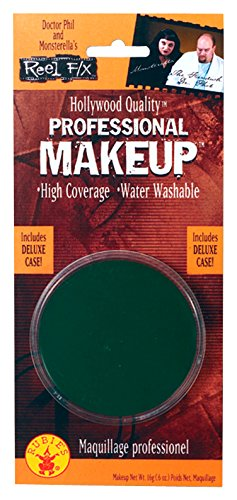 Women's womens Reel Fx Professional Green Makeup,Green,One Size - Female Hollywood Characters Costumes