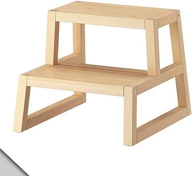 IKEA MOLGER - taburete de paso, abedul: Amazon.es: Hogar