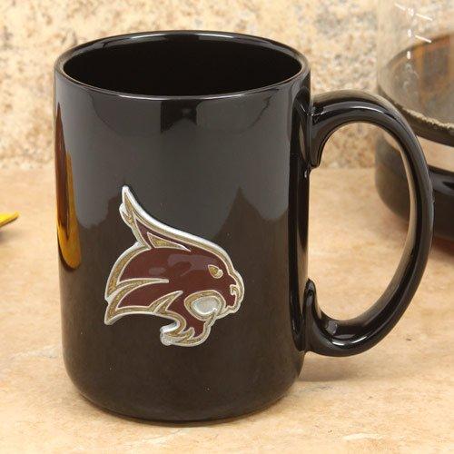 Great American Products NCAA Texas State Bobcats Coffee Mug, One Size, (Ncaa Coffee Mugs)