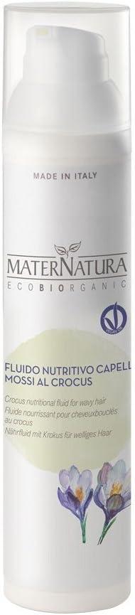 maternatura - Fluido nutritivo pelo rizado sin aclarado 100 ml