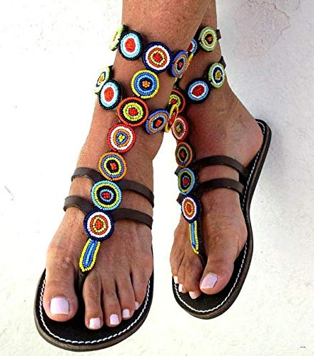 5a95c2526 Amazon.com: Reef Gladiator Wome's Sandals | Handmade Leather Reef ...