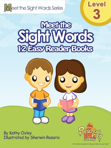 Meet the Sight Words Level 3 Easy Reader Books (set of 12 books) (Meet the Sight Words Easy Reader Books) - Dolch Readers