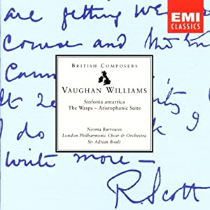 Vaughan Williams: Sinfonia Antartica/The Wasps