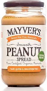 Mayver's Super Natural Smooth Peanut Butter 375 g