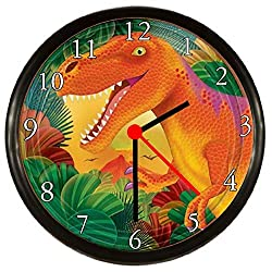 Kids Dinosaur Wall Clock