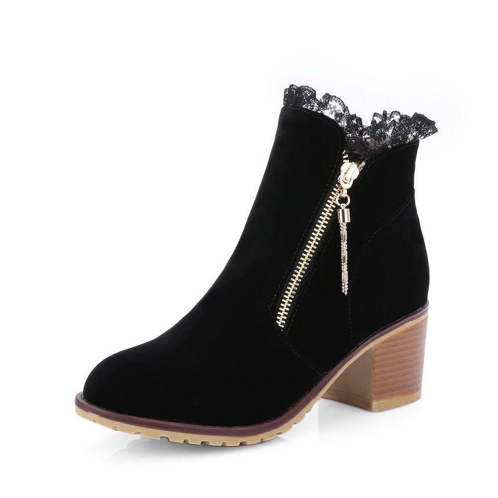 1TO9 - Botas de nieve mujer negro