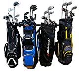 StoreYourBoard Omni Golf Organizer, Garage Storage Rack, Adjustable Wall Mounted Hanger, Golf Bags and Accessories ((4) Bags)