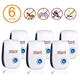 Pest Control, Ultrasonic Electric Pest Repeller Wall Plug-in-Indoor Pest Control Repellent for Mosquitoes