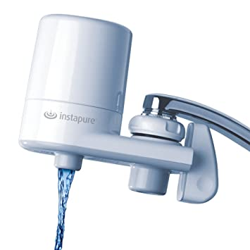 Water Filter That Attaches To Faucet. InstaPure F5GWW3P 1ES Faucet Mount Water Filter System  White On