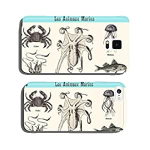 The Marine Animals cell phone cover case Samsung S6