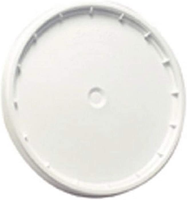LEAKTITE 6GLD 5 -Gallon lon White Plastic Pail Lid