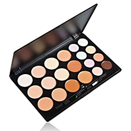 KOLIGHT® Professional Professional 20 Color Contour Face Powder Makeup Concealer Palette