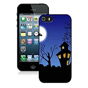 Best Buy Design Iphone 5S Protective Cover Case Halloween night iPhone 5 5S TPU Case 1 Black