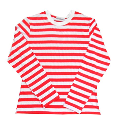 Red and White Striped Shirt: Amazon.com