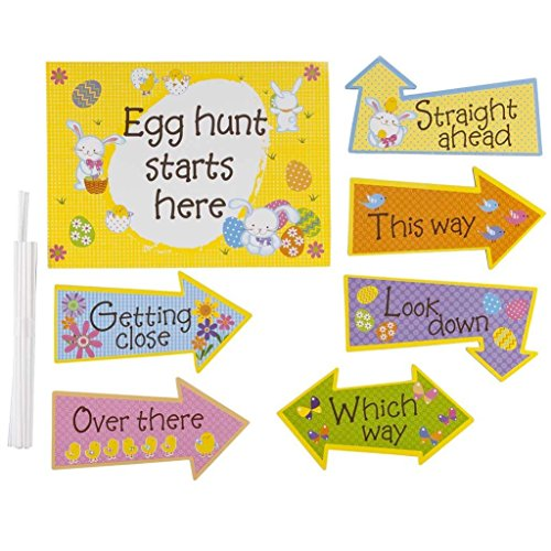 Easter Egg Hunt Kit Decorate your holiday Garden House for having with your kids