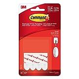 Command Small Refill Strips, White, 20-Strip