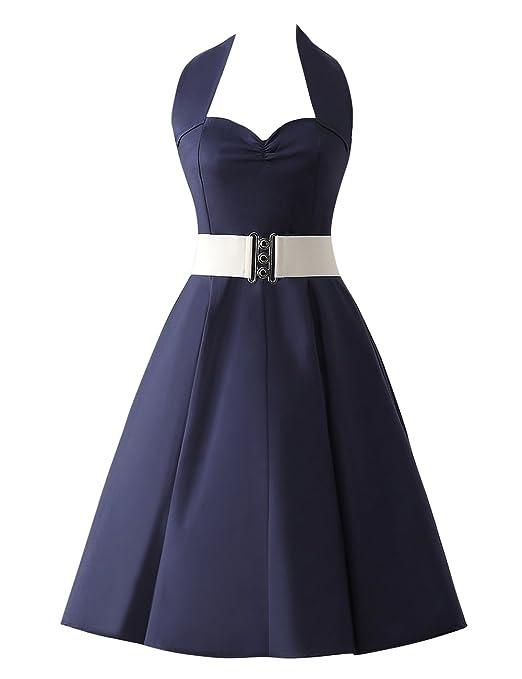 103 opinioni per VKStar®Abito Retrò Chic Stile Halter Vintage 1950 Audrey Hepburn Vestito da