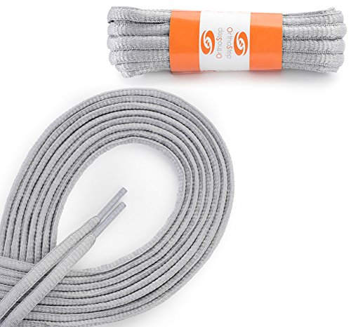 orthostep-oval-athletic-light-gray-54-inch-shoelaces-2-pair-pack