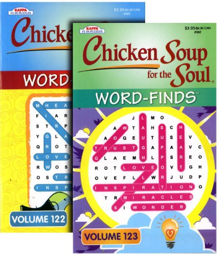 Chicken Soup Word Finds assorted Books