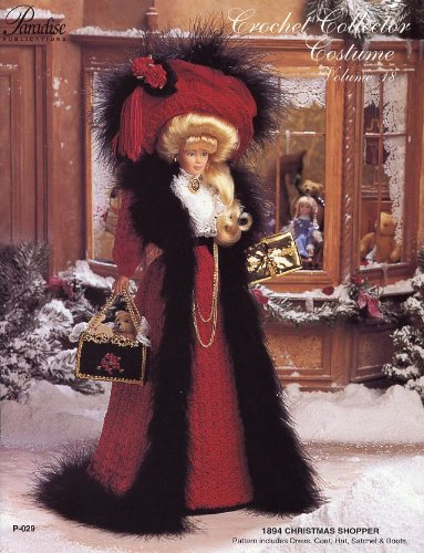 [Crochet Collector Costume Volume 18: 1894 Christmas Shopper] (Paradise Costumes Volume)