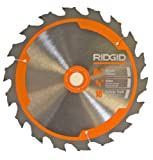 Ridgid R8651/R32031 Saw Replacement 6-1/2' 18T Carbide Blade # 681444002