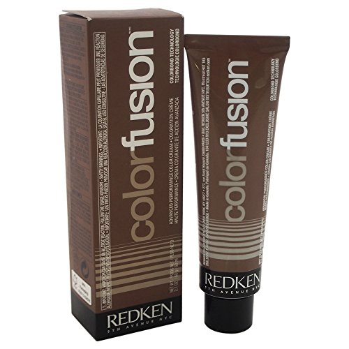 Redken Fusion Advanced Performance Color Cream 6GB Gold/Beige Hair Color for Unisex, 2.1 Ounce