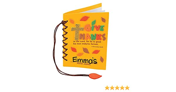 I Am Thankful For Fall Cross Craft Kit Vacation Bible School /& Crafts for Kids