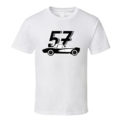 1957 Chevrolet Corvette C1 283 Convertible Vintage Car Year T Shirt