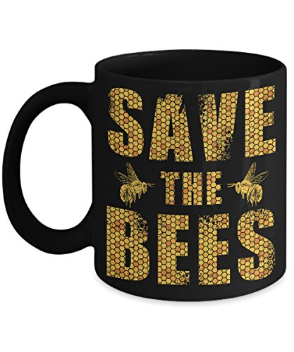 Bee Gift Idea - Funny Beekeeper Coffee Mug - Makes A Great Gift For A Birthday Or Christmas - 11 OZ Ceramic And 2 Sided Print