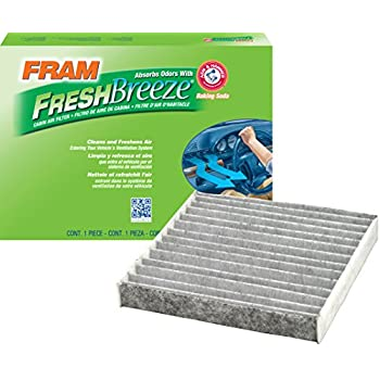 .com: fram cf10285 fresh breeze cabin air filter with arm ...