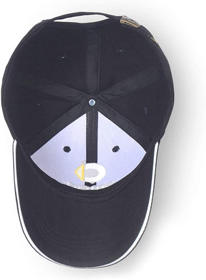 Wall Stickz Logo Embroidered Adjustable Baseball Caps for Men and Women Hat Travel Cap Racing Motor Hat fit Mini Pink