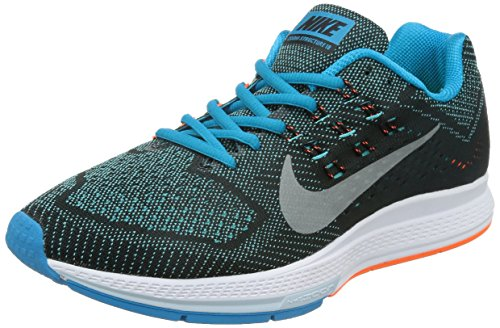 Nike Men's Air Zoom Structure 18 Bl Lgn/Mtllc Slvr/Ttl Or...
