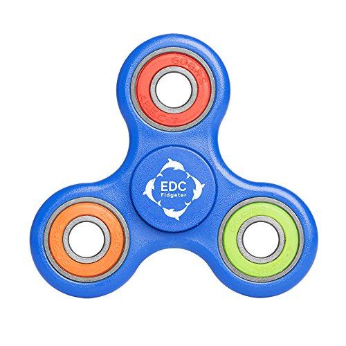 EDC Fidgeter Fidget Spinner Prime Quality Cool Rainbow Hand Finger Stress Toy