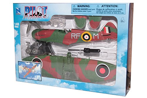 NewRay 1/48 WWII Plane Model Kit: Supermarine (Wwii Model Plane)