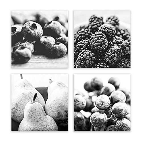 Stupendous Amazon Com Kitchen Wall Decor Fruit Art Kitchen Print Set Download Free Architecture Designs Boapuretrmadebymaigaardcom