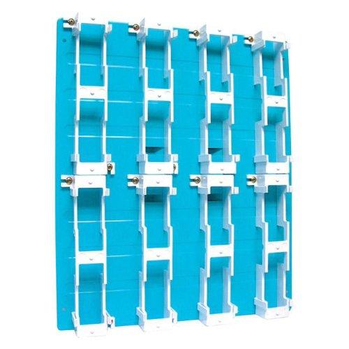 (SUTTLE 1 SE-A183B1 Sutttle Backboard-8 Block - Blue)