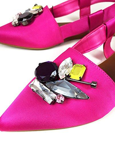 Zara Damen Slingback mit schmuckbesatz 2466/201