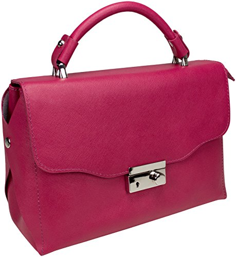 Shirin Sehan Michelle, Borsa a tracolla donna Rosa rosa