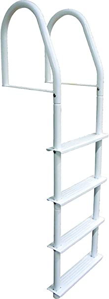Dock Edge Howell Galvalume Fijo Base Escalera, Blanco: Amazon.es: Deportes y aire libre
