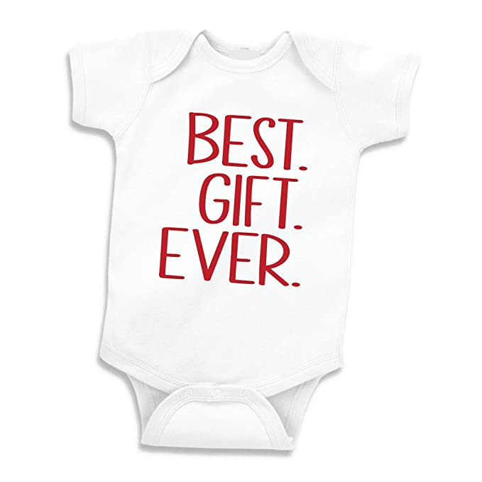 f12ba13f521e Baby First Christmas Outfit, Girl or Boy 1st Christmas Bodysuit (0-3 Months