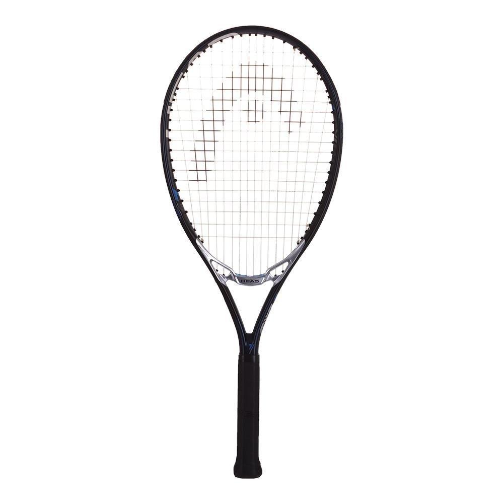 ヘッドMXG 7ブラック/シルバー/ブルー16 x 18オーバーサイズ(115 Sq In) 拡張テニスラケットStrung with無料カスタム文字列ColorsBestラケットの制御とスピン) ピンク String