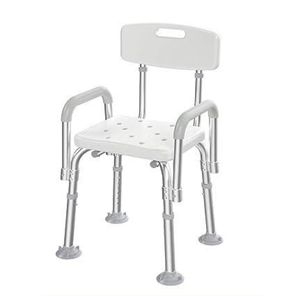 Pebegain Silla de baño de Aluminio para sillas de baño ...