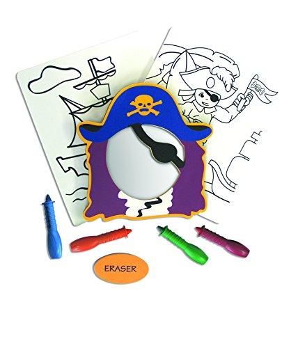 Edushape TubArt - Pirate Set (Crayons Pirate)