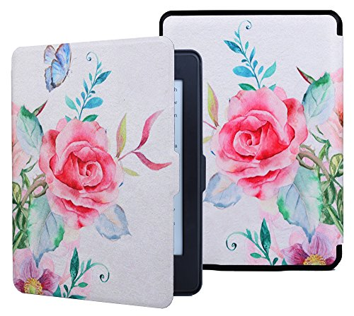 aimerday-kindle-paperwhite-case-cover-the-thinnest-and-lightest-pu-leather-rose-smart-cover-auto-sle