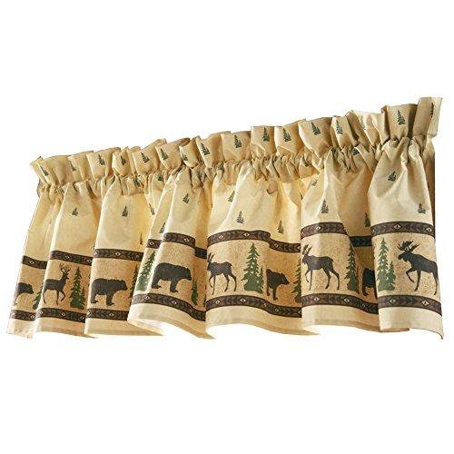 Woodland Curtain Valance, Machine Washable, Polyester