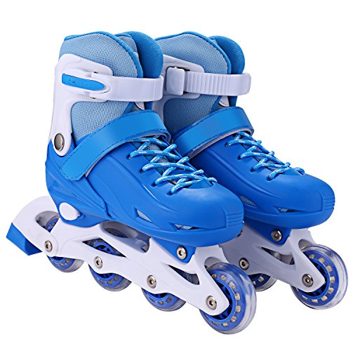 ANCHEER Inline Skates Kids Roller Skates for Women Girls Quad Skate  Adjustable Boys Kid Toddlers Youth ... c76cf8a749