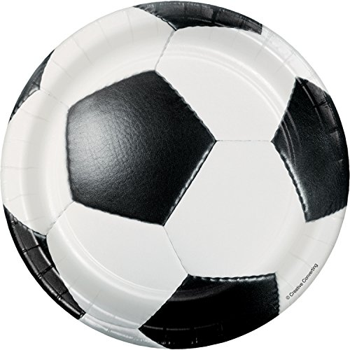 Soccer Dessert Plates, 24 ct -